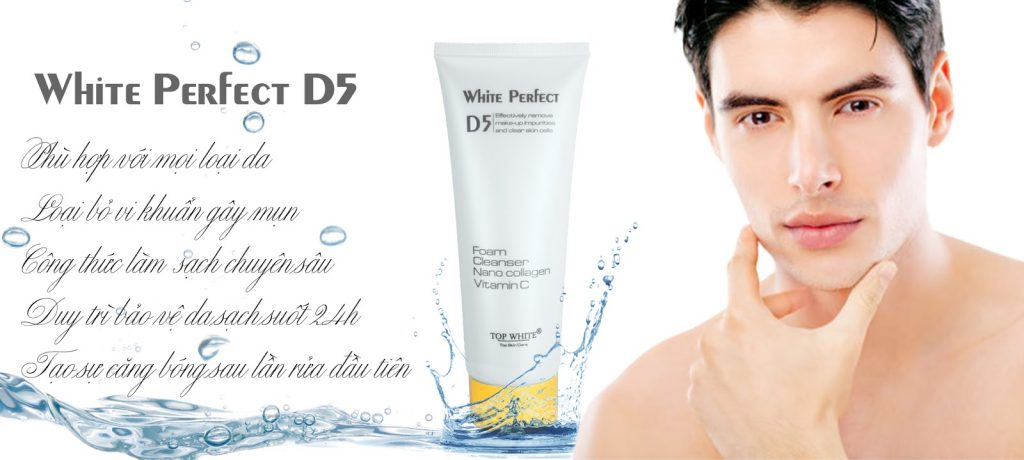 Top white perfect D5