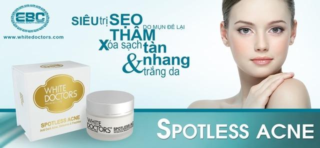 Dòng sản phẩm White Doctors - Spotless Acne